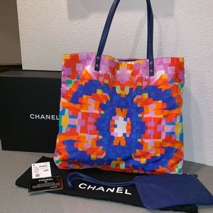 Authentic Chanel shopper spring summer 2017 tote